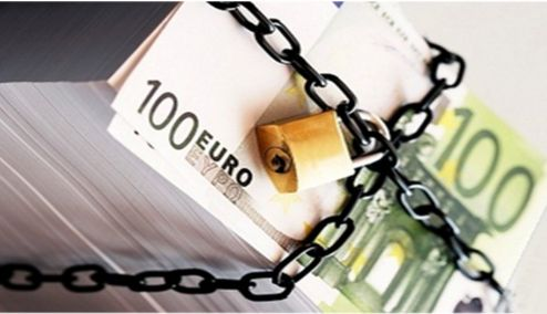 Αποτέλεσμα εικόνας για Δέσμευση τραπεζικών λογαριασμών μετά από ρύθμιση οφειλών»